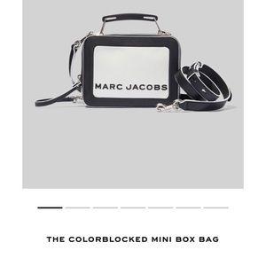 Marc Jacobs - The Colorblocked Mini Box Bag